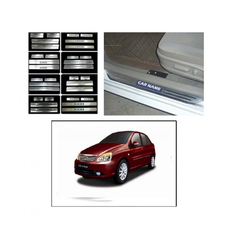 Buy Tata Indigo Door Stainless Steel Sill Plate Online At Low  Prices RideoFrenzy