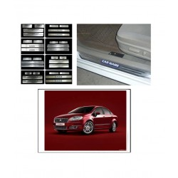 Buy Fiat Linea Stainless Steel Sill Plates online at low prices | Rideofrenzy